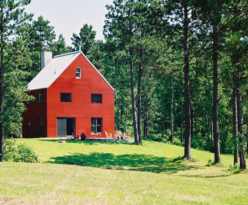 Barnhouse i for Red barn houses