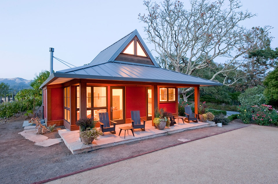 Sonoma guest cottage for House with guest house