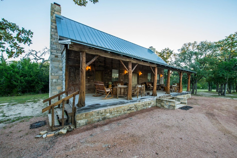 East texas log cabin for Small house plans texas