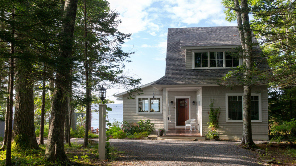 Spruce point cottage for House plans maine