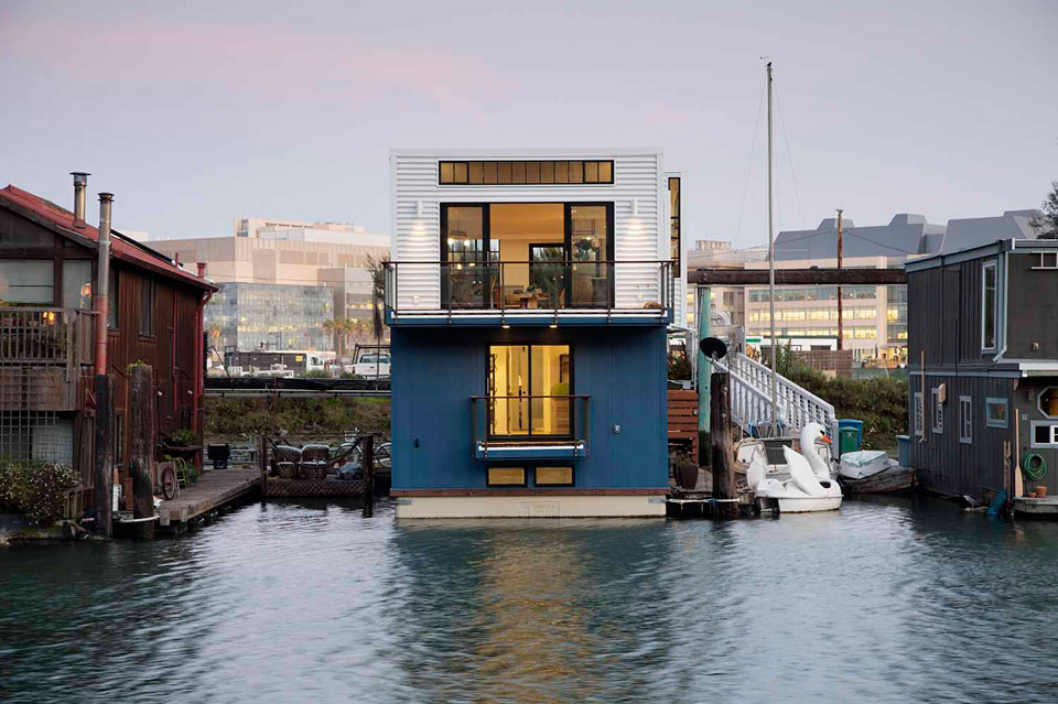 San Francisco Floating House By Robert Nebolan Architects