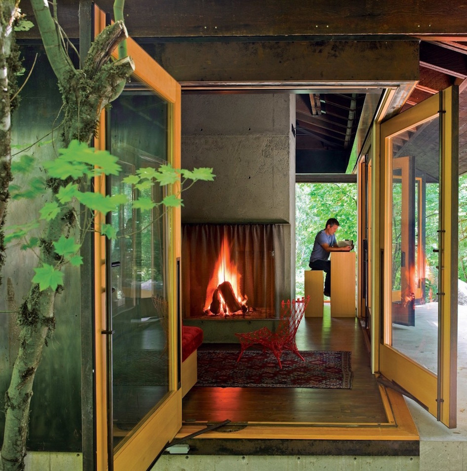 Tye River Cabin by Olson Kundig Architects